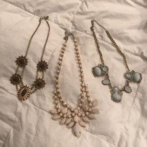 Necklace trio!